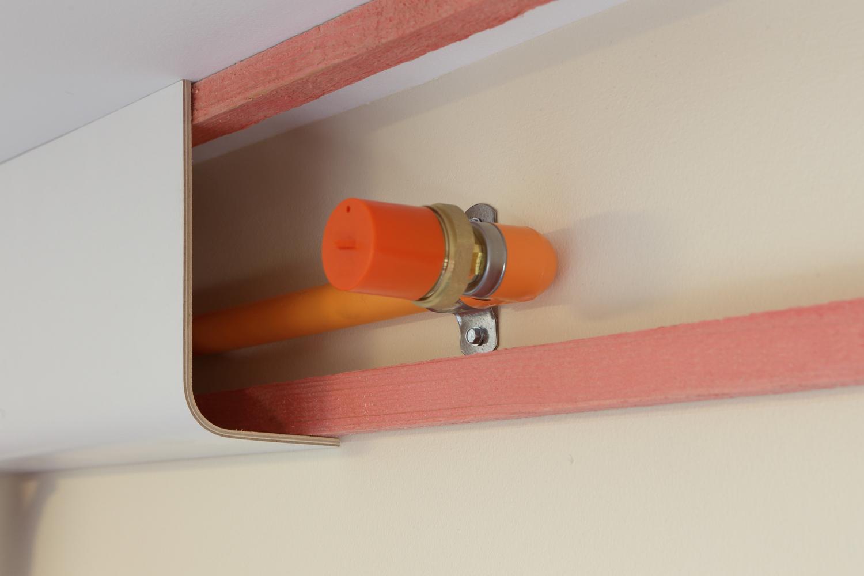 encasement pipe boxing fire-sprinkler pipework